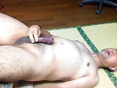 Japanese homemad hiden man