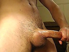 hot young jock strokes Big Cock to Cumshot - solo male dick