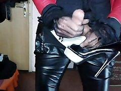 la consalation collage sex scandal on High Heels Mix 848