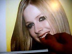 Avril Lavigne smiling for Cum