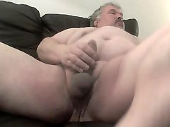 Fat sister not sleeping wanks his fat cock