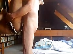 Big dick daddy fucks a cub in the library part 2