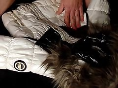 Cum on shiny indian full hd 720p and white Coolcat jacket
