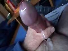 Rubber hot wife ring wank