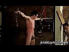 Gay bondage tube Hung Boy Made To Cum Hard