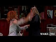 Smutty porn catfight clip