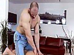 Homosexual bare male massage
