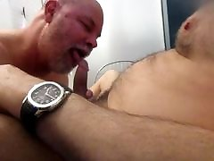 Hairy NYC Daddy Gives Up Two Creamy Loads.