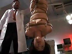 Incredible amateur BDSM, Small Tits xxx movie