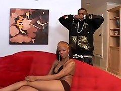 Horny pornstar Rylie Richman in incredible black and ebony, black cock fuck juicy pussy adult movie