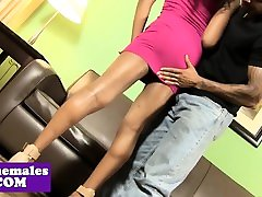 shemales dominante con pareja hetero tgirl gets her asshole fucked deeply