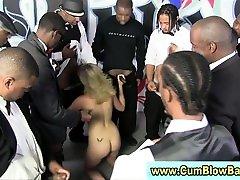 White skank dalawa per sus isa by black cocks