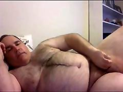 Just a cute Bear playing no cum