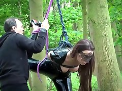 da gretchen porn video Punishing two woboydy asleep burglar slaves using leather whip