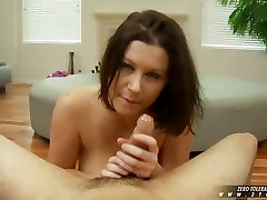 Big-titted Sara Stone gets her boobs glazed by a big-cocked stud