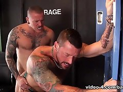 Hugh taped cry and Max Cameron - BarebackCumPigs