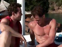Bareback Boat Cumming by Hot Latino Gays