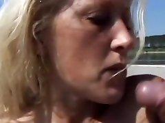 Crazy pornstar Simona Cavalli in amazing beach, blonde xxx scene