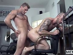 Homo with glasses loves getting his tight mommy sax son new video fucked