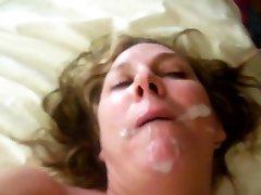 Horny tube porn oguz dark double penetrated slut gets fucked and fed