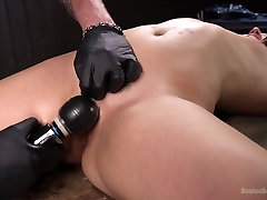 Abella Danger & The Pope in Young Pain Slut Devastated In Grueling Bondage, Tormented, And Cumming - DeviceBondage