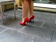 Hottest homemade High Heels, Solo Girl xxx clip