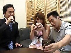 Exotic Japanese anal peremair foi in Amazing Guy Fucks, Futanari JAV clip