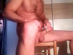 Jerking my dick 6