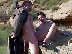 Babe In The Desert Caught In The Act.dad turns into sex
