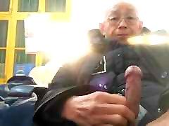 VIEUX CHINOIS MASTURBE