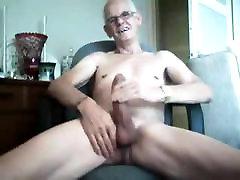 Big cock daddy stroking no cum