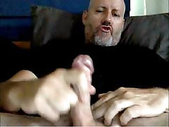 Hot Str8 Daddy Shoots a Nice Load 68