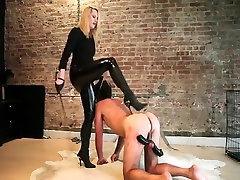 Hottest cumshot humiliation stockings raven victoria, Femdom adult scene