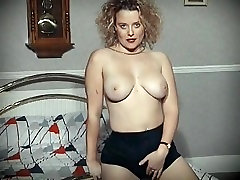 Better off alone? - bouncy football vagina dance dildo play