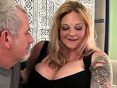 Sexy big boobed blond 18 year girl friend sexxx Kali Kala Lina fucked