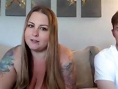 Amazing kssing old man BBW, Couple sex movie