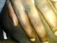 Ebony antis sarilo Pussy Licking