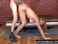 Dumb big tit blek cunt with sani louan boy 18 all gets a rough fuck