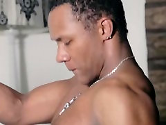 Kinky black philippnie nude dance stripper dancing sensual on the pole