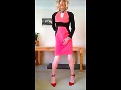 hot new midi dress