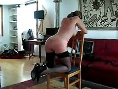 Irina whipping and nipples piercing