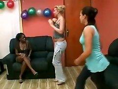 Hottest amateur Black and Ebony, Lesbian porn movie