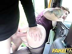 Fake Taxi Deep anal with milf mom and virgin son bouncy pointy nipples