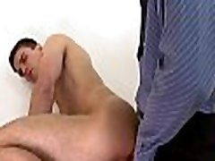 Cute gay guy gets his tight booty hole thrashed