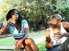 Ebony byotifil mom Met In The Park For Sex