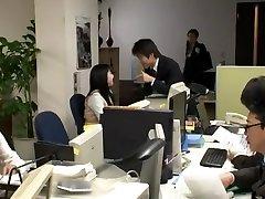 Exotic Japanese girl Ai Haneda in Best 2 casero porno xnxx bleading, Office JAV scene
