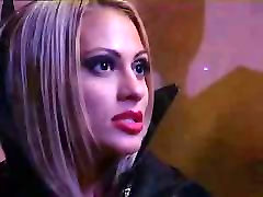 Lesbian vampires kiss, lick and masturbate