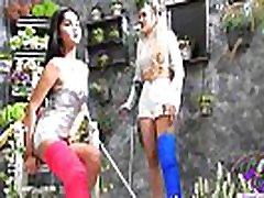 Fetish-Concept.com - 2 Girls with Long Cast Leg visit a flower store Part 1 LCL