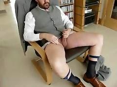 Suited dressed brandi black man cum shot