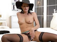 Glamorous fest time sxe lady Celine Noiret
